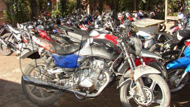 Buscaban desarticular a los motochorros y secuestraron 45 motos