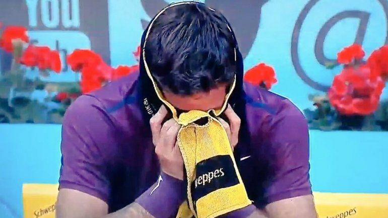 Del Potro superó a Thiem en Madrid y lloró de la emoción