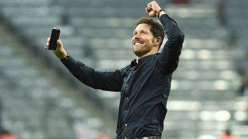Simeone volverá a jugar una final de Champions, el 28 de mayo en Milán.