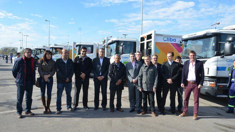La ciudad suma 18 nuevos camiones de recolección de basura