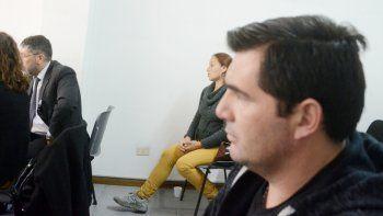 Ángela Garro y su ex, Jorge García, se cruzaron durante la audiencia