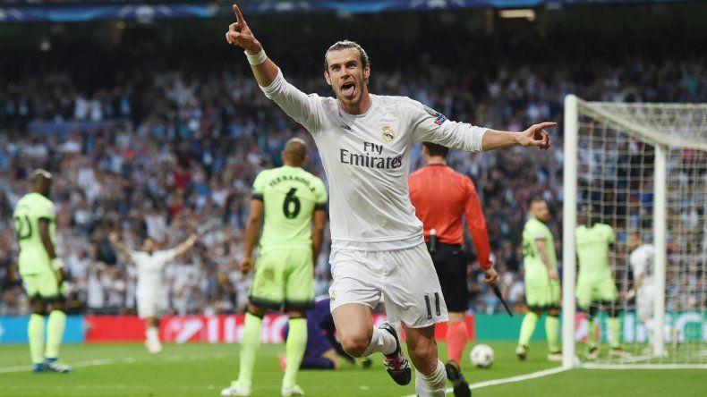 El festejo por el gol de Bale que metió al Real en una nueva definición.