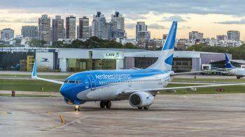 jubilados tienen 30% de descuento en viajes por aerolineas argentinas