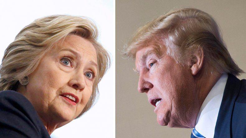 Donald Trump y Hillary Clinton prometen una dura batalla para llegar a la Casa Blanca.