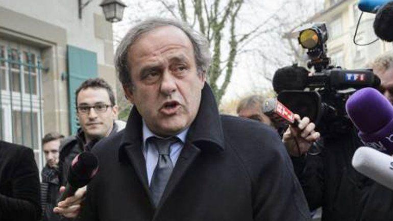 Platini renunció como presidente de la UEFA
