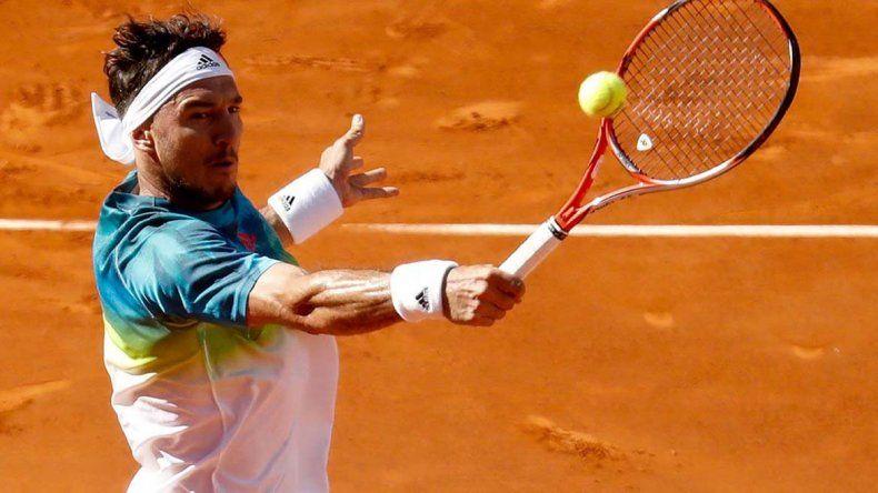 Pico Mónaco ganó y pasó a octavos en el Masters 1000 de Roma