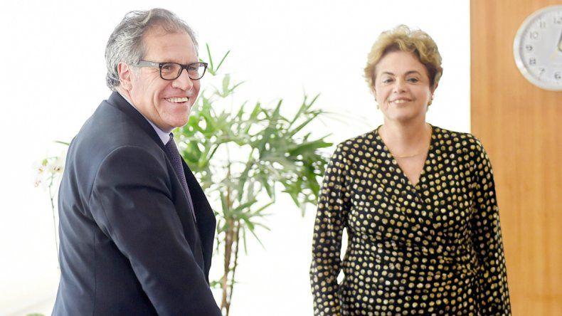 La presidenta Dilma Rousseff