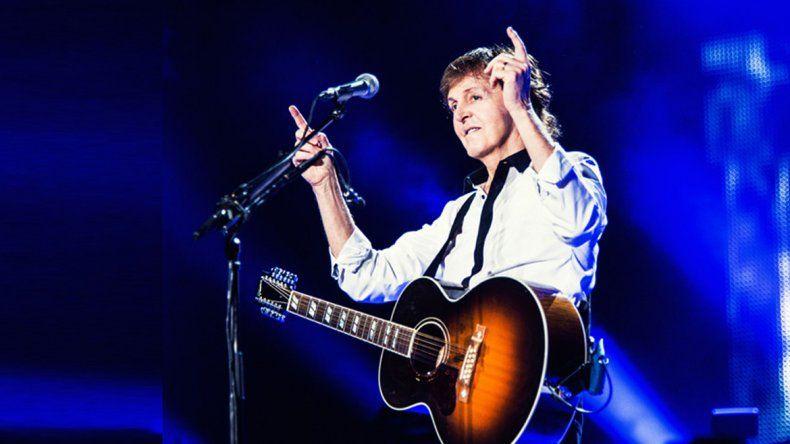 El ex Beatle se presentará el domingo en el estadio de Córdoba