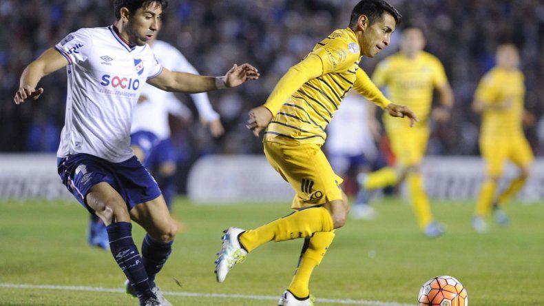 Boca consiguió un valioso empate ante Nacional en Uruguay
