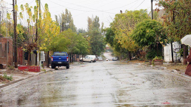 Una semana de lluvia ha provocado una merma de robos en la ciudad.