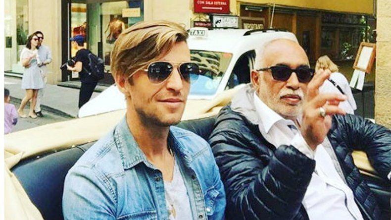 Oscar González Oro compartió en su cuenta de Instagram unas fotos con su nueva pareja