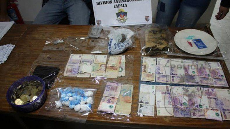 Encontraron droga y elementos robados en dos allanamientos