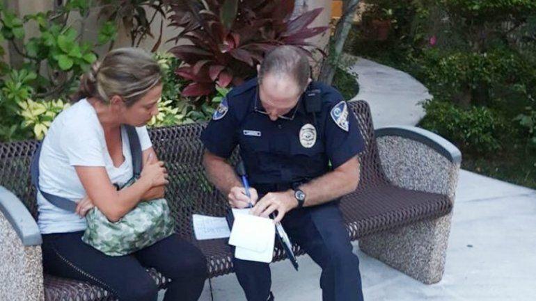 Vicky Xipolitakis es denunciada en Miami