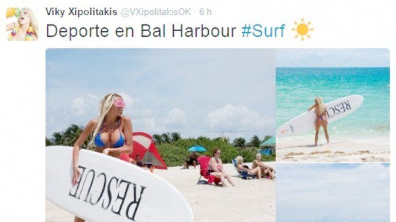 Vicky Xipolitakises denunciada en Miami