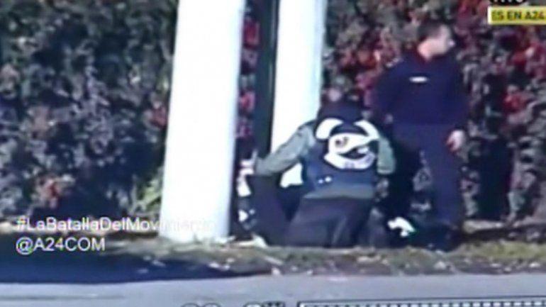 El custodio Dani La Muerte sigue grave