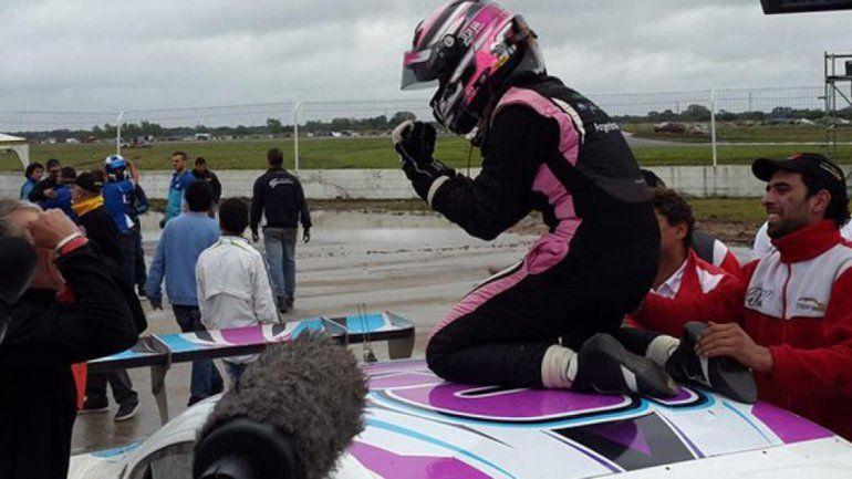 Julia Ballario ganó e hizo historia en el Top Race Series