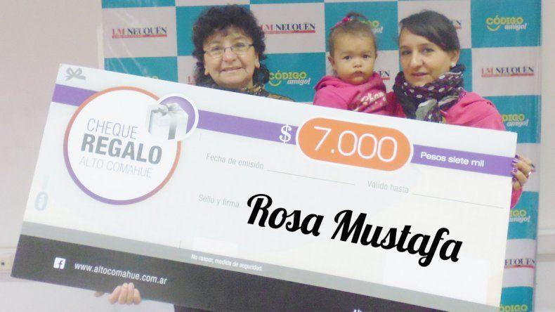 Rosa festeja su cumpleaños en tres días y ya recibió un regalo anticipado de LM Neuquén
