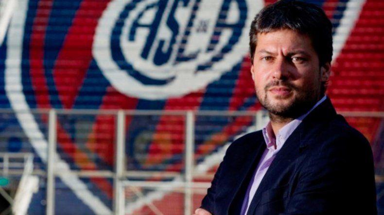 Uno de los que apoya la Superliga es Matías Lammens