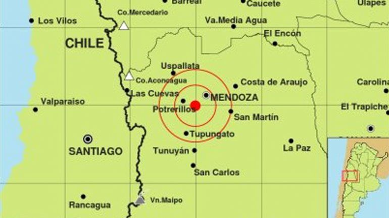 Otro sismo asustó a los mendocinos en la madrugada