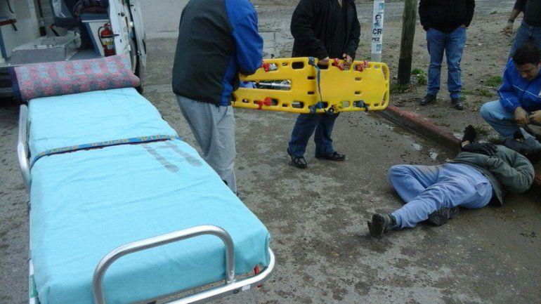 Atropelló a un motociclista y se fugó