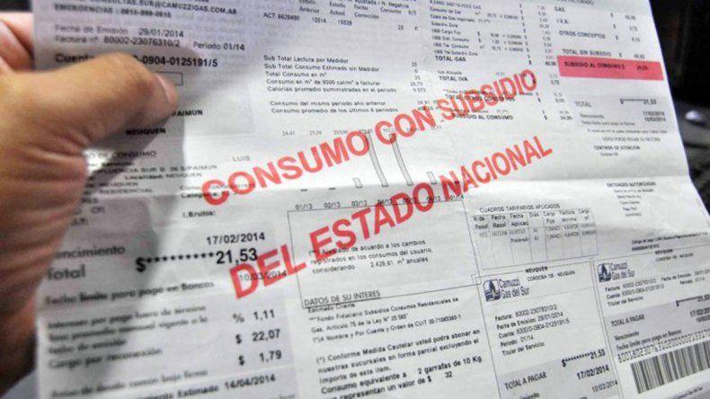 Nación prometió subsidiar facturas de electricidad y gas en la Patagonia