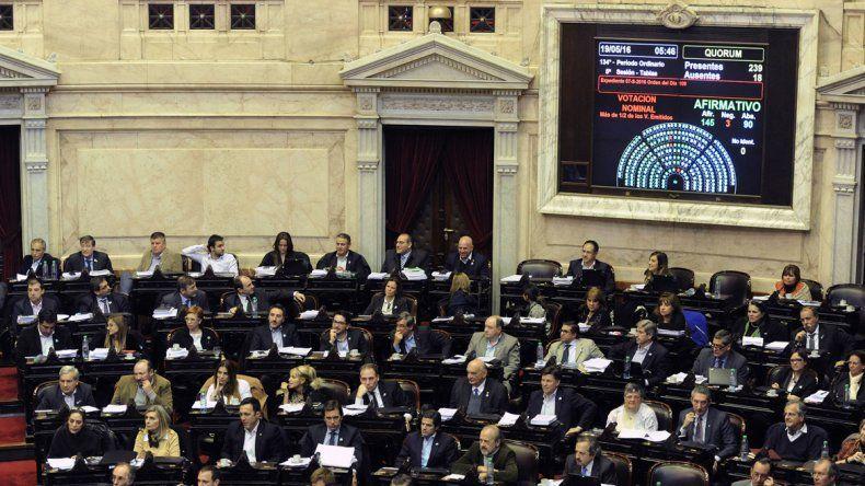 El Congreso votó ayer a primera hora de la mañana la polémica ley. El partido provincial finalmente respaldó el proyecto en la Cámara Baja.