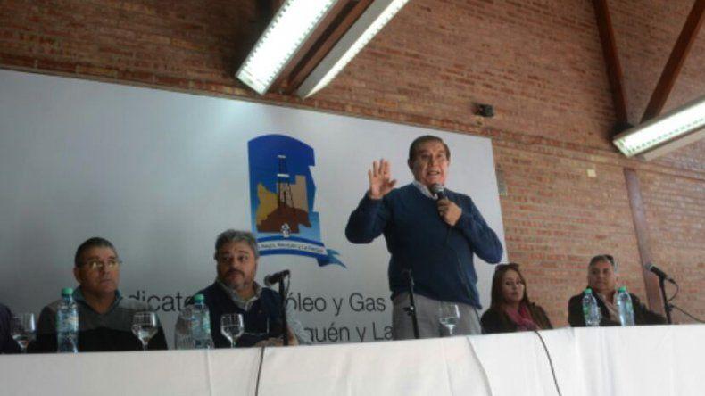 Pereyra había anunciado un paro general para el lunes 23 desde las 8. Ante la conciliación obligatoria suspendieron las medidas.