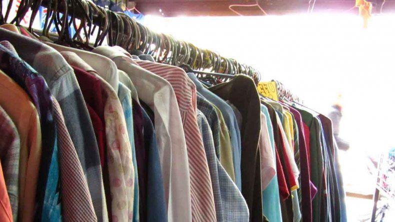 La venta de ropa usada creció un 30%