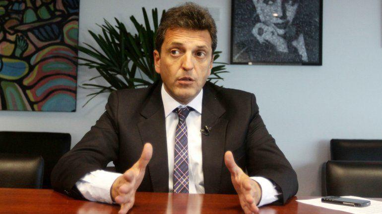 Massa, en contra  de las reelecciones en Buenos Aires