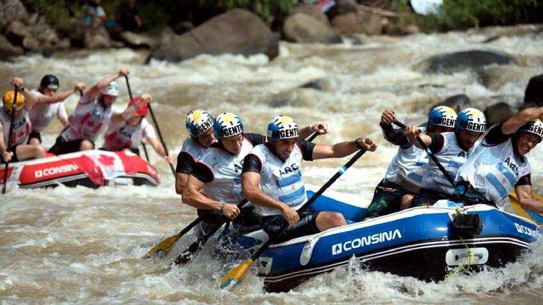 Neuquén quiere ser sede del Mundial de rafting