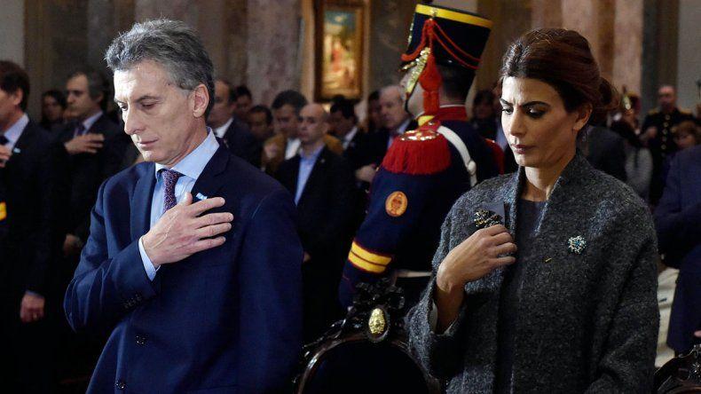 Macri asistió a su primer tedéum como presidente