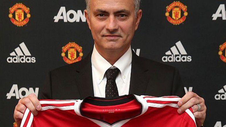 Mourinho es el nuevo DT del Manchester United.