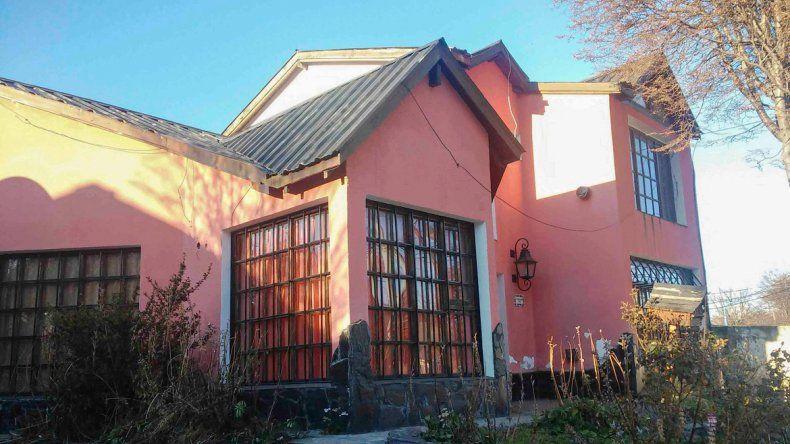Una casa propiedad de Lázaro Báez en Tierra del Fuego.