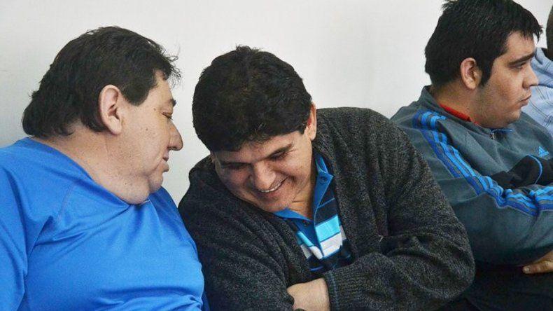 Condorito Dávila y Héctor Montecino durante el juicio en el 2013.