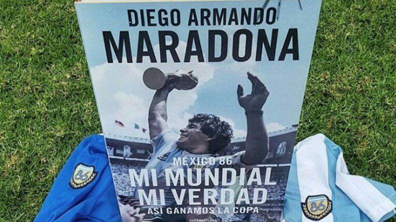 Polémica dedicatoria de Diego en su nuevo libro: A Cristina, a La Cámpora, a Moreno, Volveremos