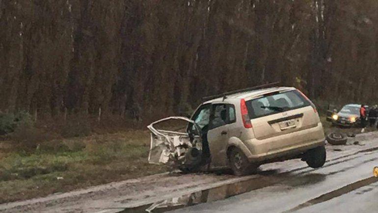 Un hombre murió en un choque entre un auto y una camioneta petrolera