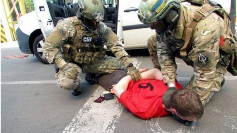 El detenido fue atrapado por los servicios de inteligencia de Ucrania.