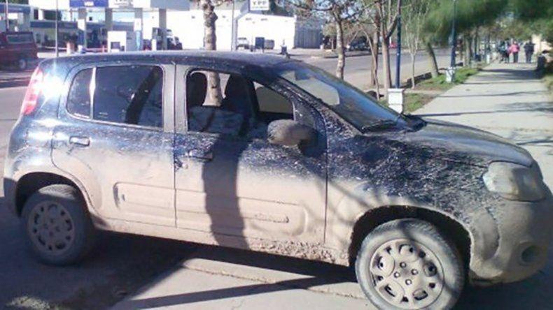 El auto de la travesti que sus asesinos quisieron vender.