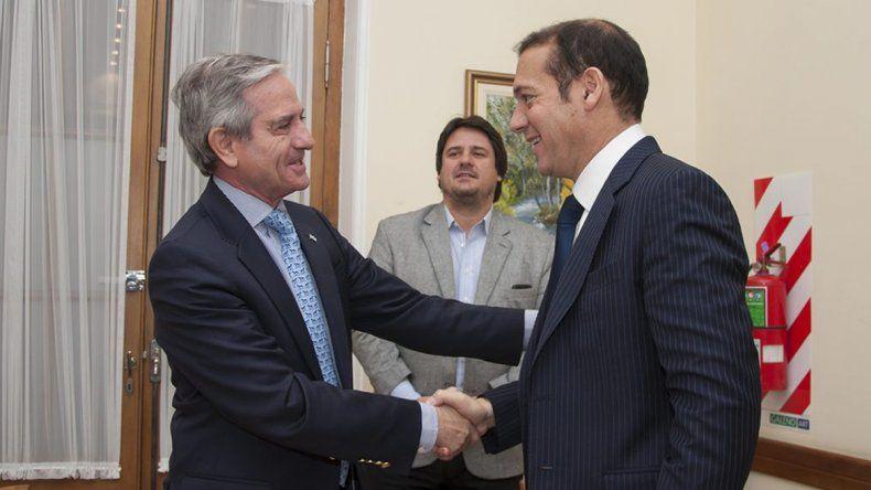 Gutiérrez se reunió con el ministro de Modernización de Nación