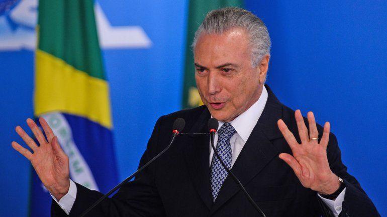 El actual presidente fue presionado por los industriales paulistas.