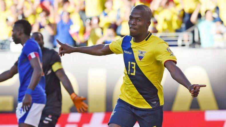 El seleccionado ecuatoriano de fútbol
