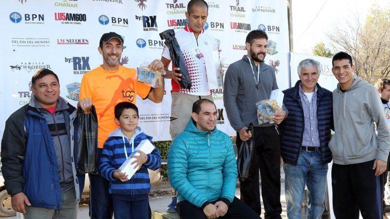 David Párraga (centro) con Avellaneda y Rubio.