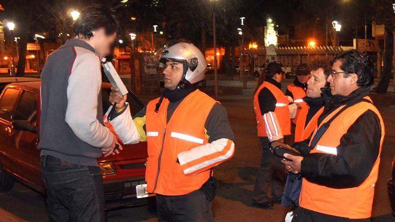 Secuestraron 30 vehículos por conductores con más alcohol de lo permitido