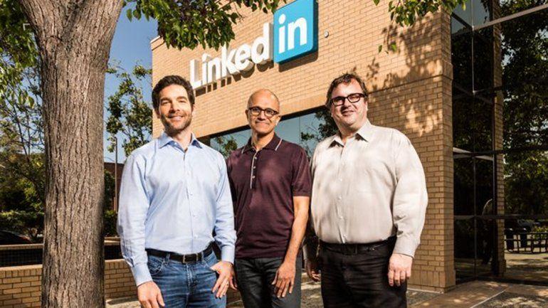 Microsoft comprará LinkedIn por 26.200 millones de dólares