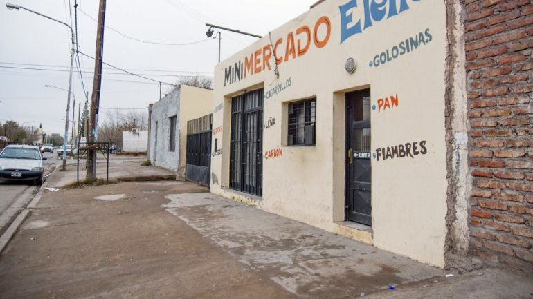 El comercio de la calle Belgrano.