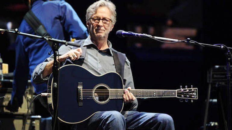Eric Clapton habló sobre su enfermedad