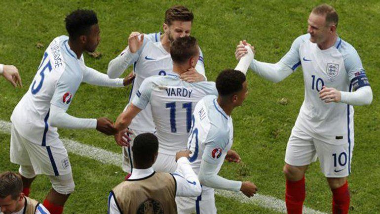 Con un agónico gol, Inglaterra le dio vuelta el partido a Gales