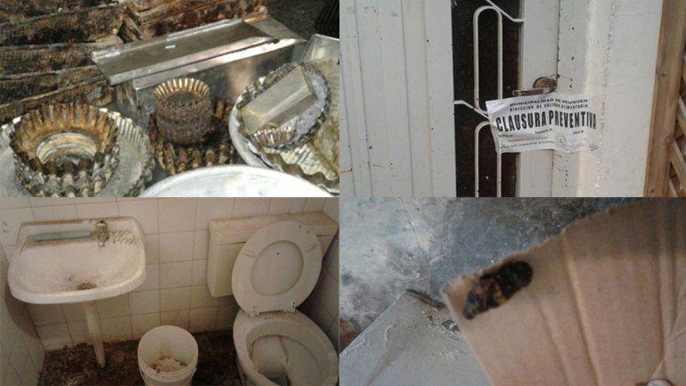 Clausuraron una conocida pastelería porque hallaron excremento de ratas y cucarachas