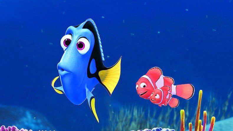 Punto en común. Al igual que en Buscando a Nemo