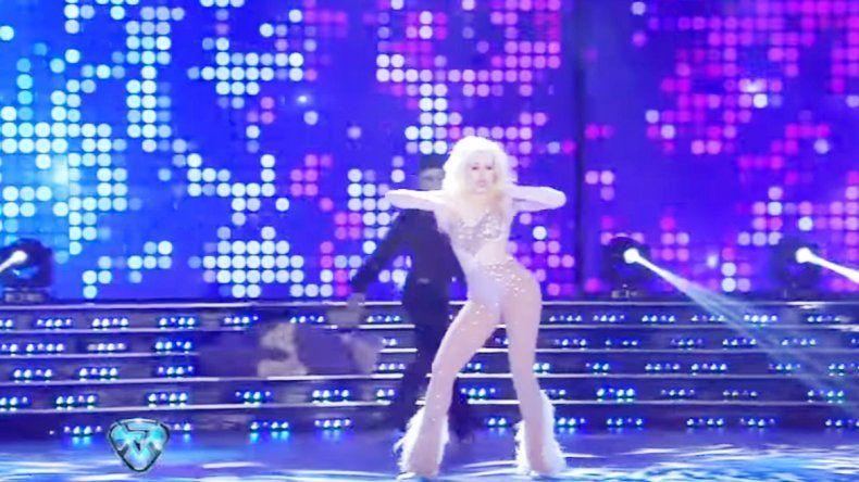 La cantante se destacó en su debut en el Bailando.